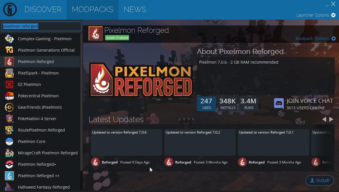 PokeMC - A Pixelmon Minecraft Community